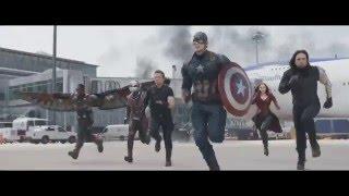 Капитан Америка - гражданская война #2 Озвучка Верлен