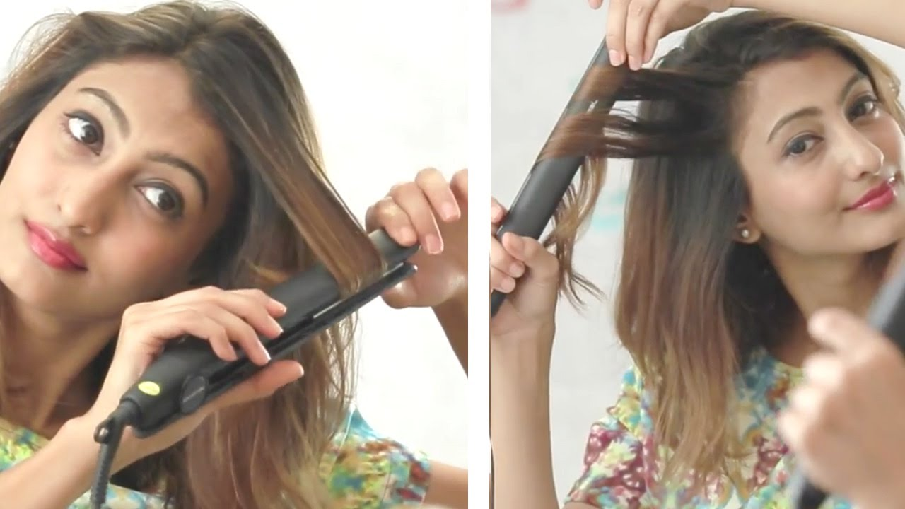 How To Straighten Hair And Get Soft Curls With A Hair Straightener