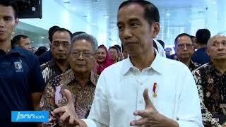 Jokowi Resmikan Terminal Apung Bandara Ahmad Yani Semarang - JPNN.COM