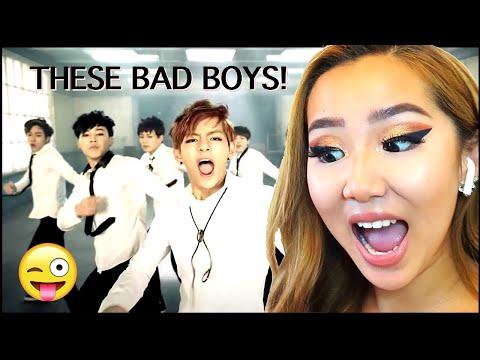 BABY BAD BOYS! 😜 BTS 'BOY IN LUV' 💜MV | REACTION