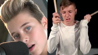 The Chainsmokers - Who Do You Love (Gavin Magnus and Avery Molek) Drum Cover | Jam Jr.
