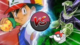 Ash Ketchum vs Cell || #CellGames || Elite3 (ft. Team Four S...