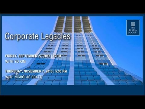 Corporate Legacies: In Conversation with YD Kim