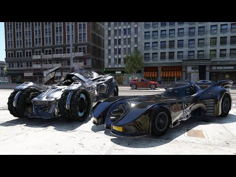 GTA 5 Mods Batmobile Movie Cars
