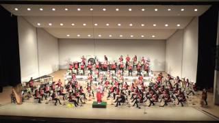 川崎市立橘高等学校 吹奏楽部 ディープパープルメドレー 2016 年1 月30日