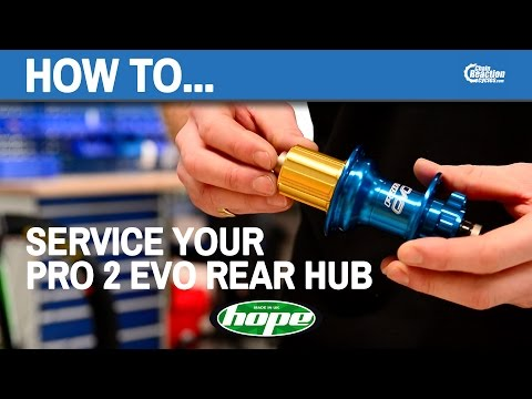 How to service your Hope Pro 2 Evo rear hub - Hope Technology