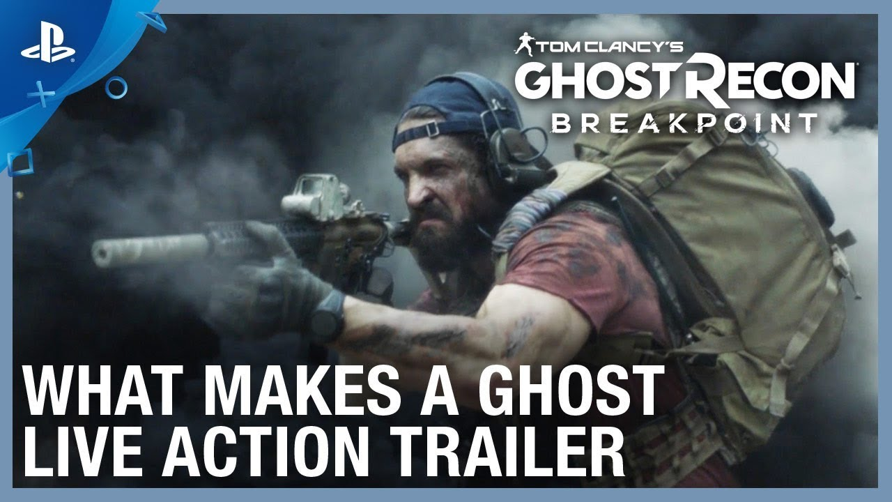 Tom Clancy's Ghost Recon Breakpoint | What Makes a Ghost Live Action Trailer | PS4