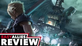 Final Fantasy VII Remake - Easy Allies Review (Video Game Video Review)