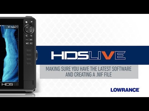 Getting the Latest Software & Creating NIF Files - HDS LIVE