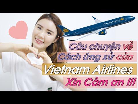 Câu chuyện về Cách ứng xử của Vietnam Airlines- Xin Cảm ơn !!!