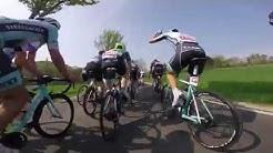 Tour d'Energie 2018: Spitzengruppe 100 km