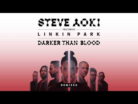 Steve Aoki feat. LINKIN PARK - Darker Than Blood (Bassjackers Remix) [Cover Art]