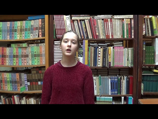 Изображение предпросмотра прочтения – ЮлияИванова читает произведение «Девушка пела в церковном хоре» А.А.Блока