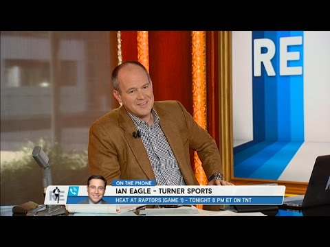 CBS Sports Broadcaster Ian Eagle NBA Playoffs & More - 5/2/16