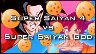 Super Saiyan 4 vs Super Saiyan God (Which is Stronger)