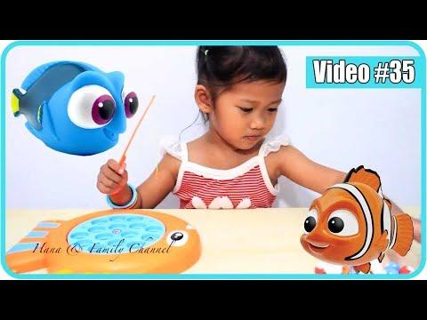 Mainan Pancing Ikan 🎣  Anak Main Mancing Ikan Mainan - Kids Fishing Toys