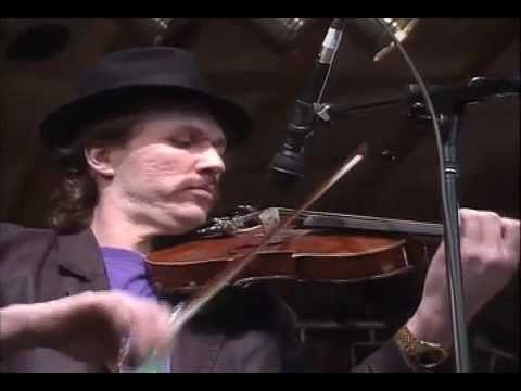 """Mark O'Connor/Bela Fleck/Sam Bush/Tony Rice - """"Whitehouse Blues"""" Merlefest 1991"""