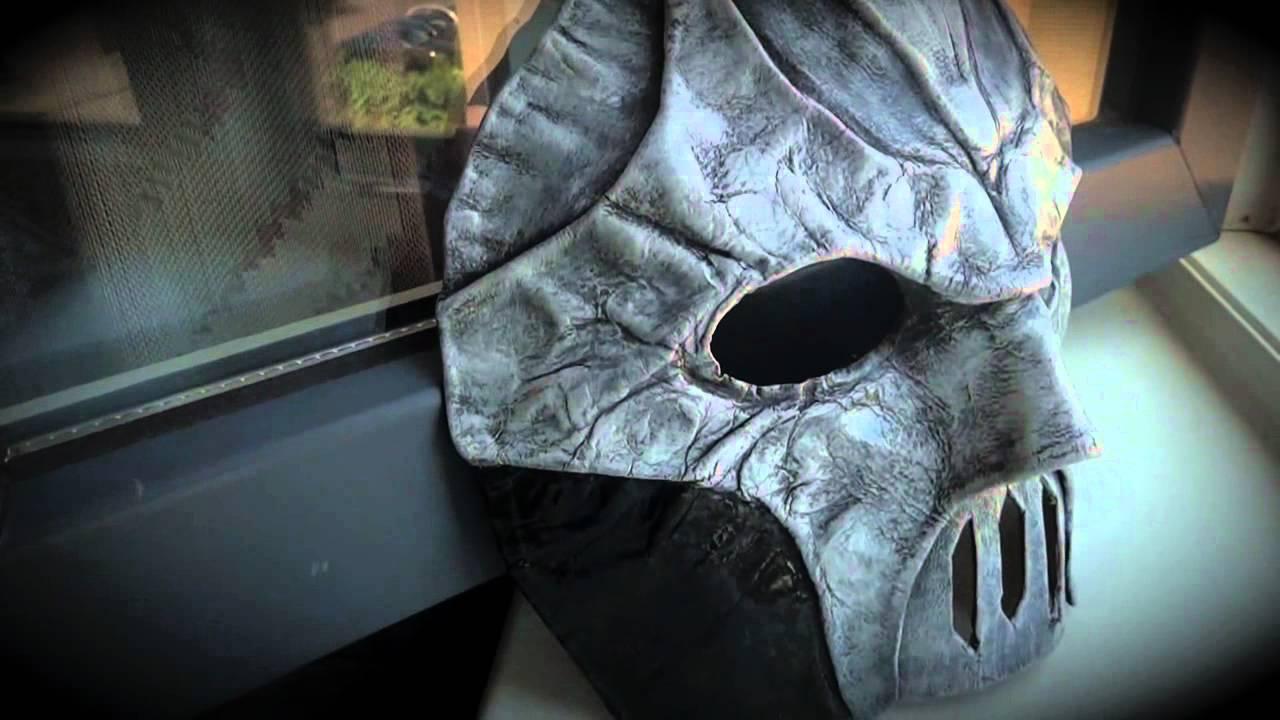 custom made mask for wrestler the demon rigour mortis