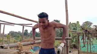 One year body transformation by local gym without any protein