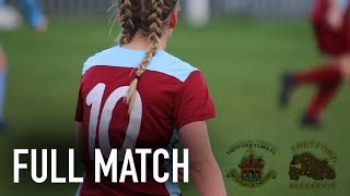 Thetford Town Ladies VS Thetford Bulldogs Ladies | Full Match | 16/12/18