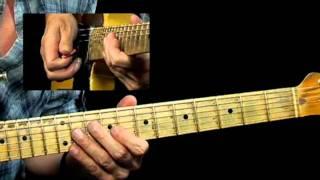 50 Rhythm & Blues Licks - #34 Take Me Higher - R&B Guitar Less