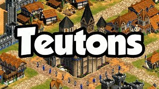 Teutons Overview AoE2 (2019)