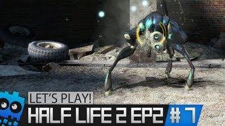 Let's Play Half Life 2 Episode 2 - Part 7 - OMG Hunters!...