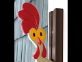 The Whizbang Chickenhead Door Knocker