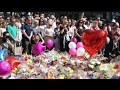 Manchester Tribute: Woman Sings Oasis Don't Look Back In Anger
