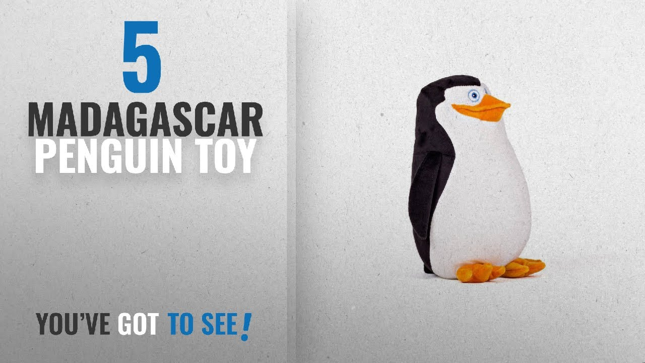 "4PCS//Set Dreamworks The Penguins of Madagascar Soft Plush Stuffed Toy 8/""-10/"""
