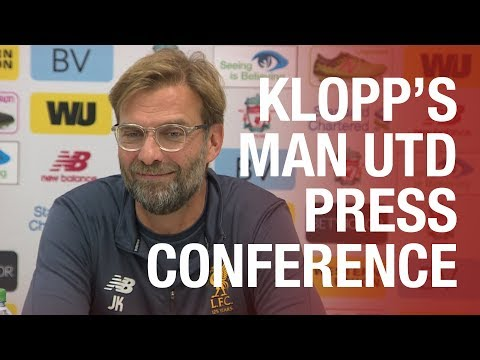 Jürgen Klopp's pre-Manchester United press conference | Mane