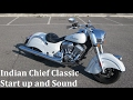 Indian Chief Classic Start up and Sound