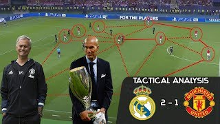 How Zidane's Madrid outclassed Mourinho's United in Super Cup: Tactical Analysis