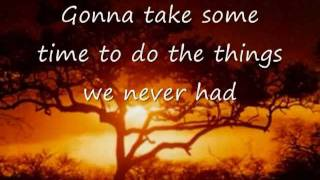 Toto Africa Lyrics Video