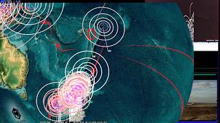 7/20/2018 -- New M6.0 Earthquake -- Multiple M6.0+ activity -- Seismic increase obvious