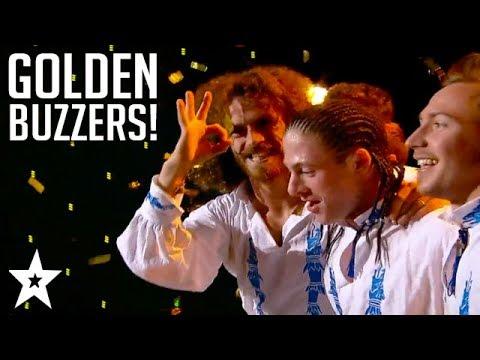 ALL GOLDEN BUZZERS From Romania's Got Talent 2017! | Got Talent Global