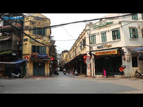 COVID-19: Hanoi's Old Quarter is a far quietier place because of the pandemic