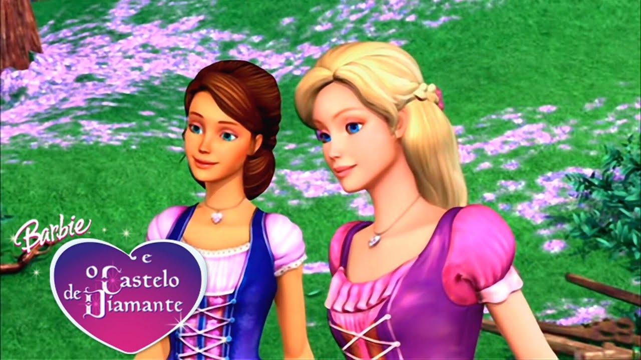 Cante Com Barbie Unidas Barbie E O Castelo De Diamante Barbie Filmes Br Youtube