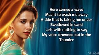 Naomi_Scott_-_Speechless__Full___From__Aladdin 🎵 (Lyric_)