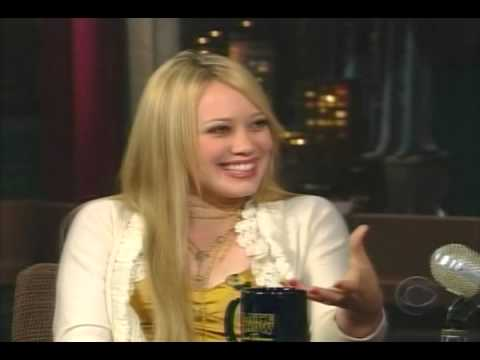 HILARY DUFF LIVE DAVID LETTERMAN 2004