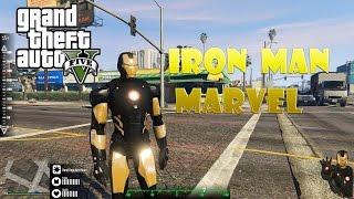 Iron Man Marvel mod GTA 5 - ГТА 5 моды - установка и обзор мода
