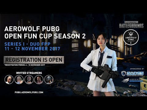 Aerowolf PUBG Open Fun Cup Season 2 Series 1 - Final Day