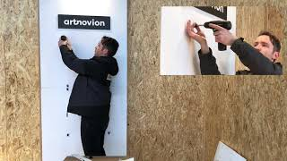 Artnovion Fixart Tube - Single Panel Installation