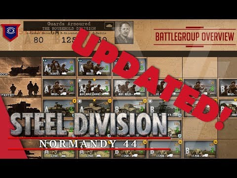 UPDATED! Guards Armoured (The Household) - Steel Division: Normandy 44 Battlegroup Overview #16