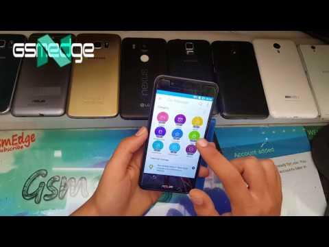 Asus Zenfone Pegasus 3 Bypass google Account (Asus x008d)