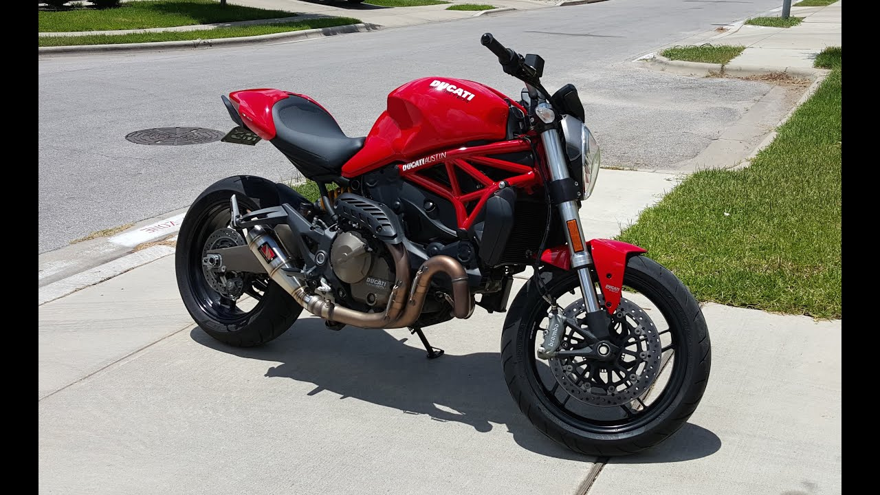 2015 ducati monster 821 ride review youtube. Black Bedroom Furniture Sets. Home Design Ideas