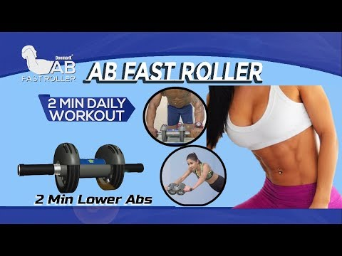 how-to-lose-weight-and-belly-fat-|-ab-fast-roller-workout-|-get-six-pack-abs-in-two-minutes