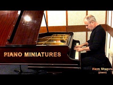 PIANO MINIATURES  Haim SHAPIRA