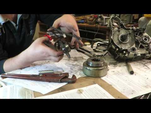 Снимаем ротор генератора без съемника