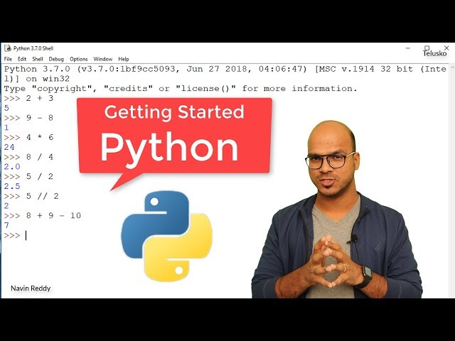 #3 Python Tutorial for Beginners | Getting Started with Python